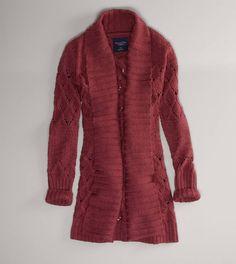 AE Sweater Coat