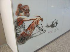 #portal whiteboard art via reddit user Korsoh