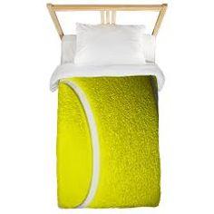 Tennis Ball Twin Duvet > Tennis Ball > Leatherwood Bedroom Shop