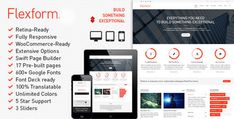 Flexform V1.8.41  Retina Responsive Multi-purpose Theme