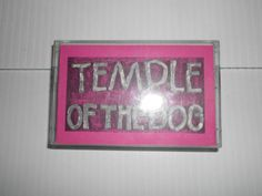 Promo A&M Pearl Jam Temple Of The Dog Cassette