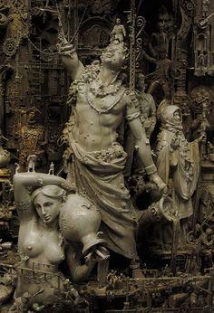 Anti-Utopias | Kris Kuksi – The Dark and the Aura