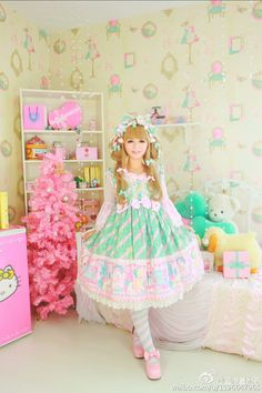 Harajuku Fashion, Kawaii Fashion, Lolita Fashion, Grunge Fashion, Pretty Outfits, Cute Outfits, Gothic Lolita, Lolita Style, Fairytale Fashion