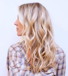 Layered, Wavy Hairst