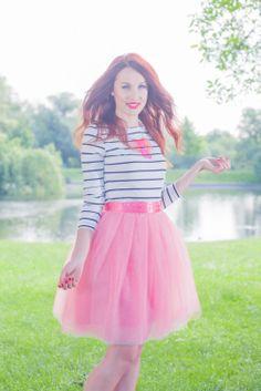 coral Back To Black, Tutu, Coral, Ballet Skirt, Skirts, Fashion, Moda, Fashion Styles, Skirt