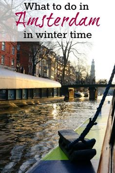 What to do in Amsterdam in winter, where to stay and places to eat. A complete itinerary for 3 days in Amsterdam, all you need to plan your trip to this amazing city in The Netherlands. via @loveandroad