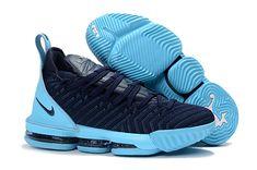 7044daeefb1 2018 New Nike LeBron 16 Navy Blue Jade-White Men s Size Free Shipping Lebron