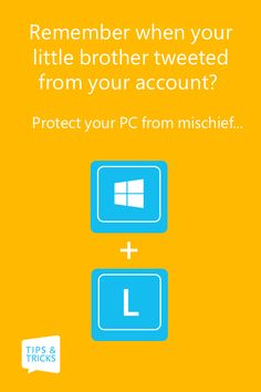 Hit Windows + L to lock your screen and keep it password protected.