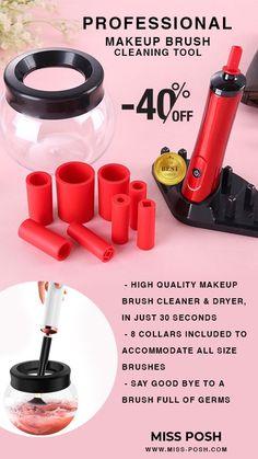 Old Makeup, Make Makeup, How To Clean Makeup Brushes, How To Apply Makeup, Liquid Foundation Brush, Brush Cleanser, Highlighter Brush, Makeup Brush Cleaner, Blush Brush