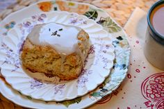 Just made these lavender walnut scones on Sunday, even more amazing with some lemon curd - thanks Joy!