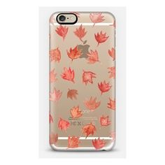 iPhone 6 Plus/6/5/5s/5c Case - Falling Autumn Leaves (950 CZK) ❤ liked on Polyvore featuring accessories and tech accessories