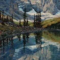 darcie peet art | Darcie Peet | PAINTINGS-Mountains and streams | Pinterest