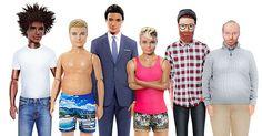 Luego de 56 años de historia Mattel por fin hará unas muñecas más realistas ahora Barbie y Ken tendrán unos cuerpos más naturales y comunes. Mira como se ven.