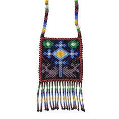 Eye of God and Deer Huichol Story Necklace. Artisan Jewelry, Handmade Jewelry, God, Eyes, Tattoos, Jewellery, Google Search, Design, Style