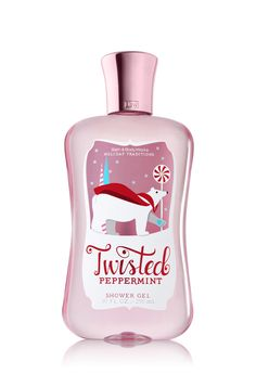 Twisted Peppermint Shower Gel - Signature Collection - Bath & Body Works (fave scent): I seriously just ran out of this stuff and I'm so sad!  It smells like candy canes and happiness!