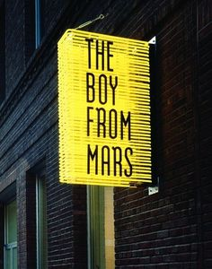 Atelier Drome: Sign of the Times, NEON SIGN, TYPE, LAYOUT, LINES, MARS, SIGNAGE, ENVIRONMENTAL