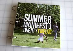 Create a Summer Manifesto album to set intentions and document your experiences.
