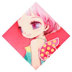 Pink Feather by Hime+You