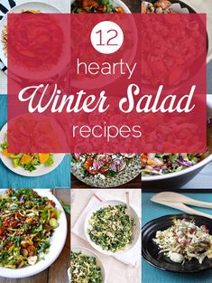 12 Hearty Winter Salads