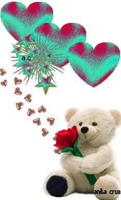 Bee Pictures, Teddy Pictures, I Love You Pictures, Beautiful Love Pictures, Beautiful Gif, Beautiful Roses, Love Heart Gif, Love Heart Images, Love You Gif