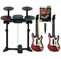 Guitar Hero WARRIORS OF ROCK XBox 360 Super Bundle GUITARSExcellent used condition.Guitar Hero: Warriors of Rock breathes new life into gamers' current Guitar Hero music libraries providing literally hundreds of hours of replayability with the. Xbox 360 Video Games, Music Library, Warriors, Hero, Entertainment, Electronics, Rock, Libraries, Guitars