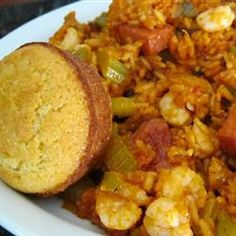 Shrimp, Sausage, and Fish Jambalaya