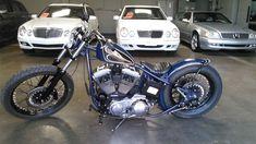 1993 Harley-Davidson Custom Rigid Bobber for sale via Rocker.co #harleydavidsonsporster