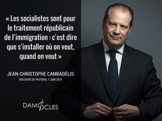 #Cambadélis  #GrandRemplacement #JeanChristopheCambadélis #partisocialiste #socialisme #France #politique #immigration #migrants #UnionEuropéenne #EuropeanUnion #Damocles