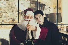 Christmas time with Kim Hyun Joong