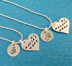 SALE 2 Set of Best Friend Necklace  Personalized by ILoveItandMore
