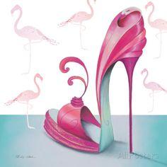 Pretty Flamingo Lámina