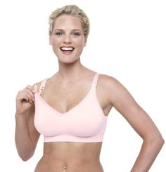 Bravado Body Silk Seamless Nursing Bra , Medium, Pink Ice Bravado! Designs- the ONLY nursing bra I needed. Of course I learned that lesson after trying a few other ones. I wanted to see if any others were better than this. NOPE!