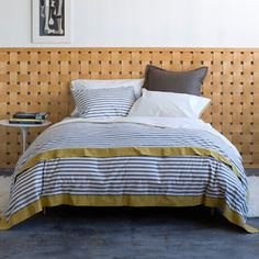 Found it at AllModern - DwellStudio Draper Stripe Ash Duvet Duvet Cover Sizes, Duvet Covers, Duvet Sets, Home Accents, All Modern, Home Furnishings, Nursery Decor, Comforters, Master Bedroom