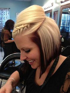 messy updos with braids for short hair - Google Search