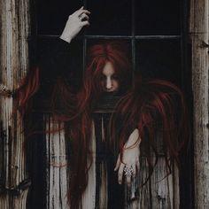 Rotes Haar Gotische