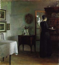 A quiet morning, Carl Vilhelm Holsøe. Danish (1863 - 1935)