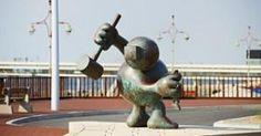 Tom Otterness (beelden aan zee)