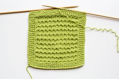 Cast on 31,then k 6 rows in garter stitch. Row 7: K 4 sts, place marker for garter stitch border, k to last four st, place marker, k last 4 sts.Row 8: K 4, p to marker, k 4.Row 9: K 4, k1, *p1, k1; rep from * to marker, k 4.Row 10: K 4, p to marker, k 4. Cast off