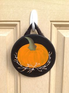 Pumpkin Sign Fall Decor Home Decor by PeppermintDreamland on Etsy