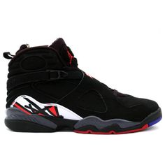 aab7cc95b7d449 Nike Air Jordan 8 VIII Retro - Playoffs (Black Varsity Red-White) Best shoes  ever!