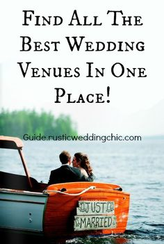 Looking for a wedding venue just got much easier with this great site!