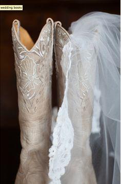❥ wedding boots