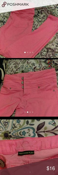 Rue 21 pink jeggings New with out tags  Never worn Rue21 Jeans Skinny