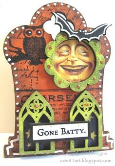 FRIENDS in ART: Gothic Tombstone ATC Swap!!!