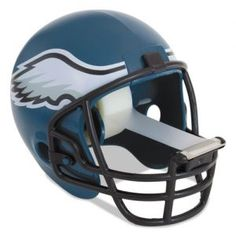 Philadelphia Eagles NFL helmet scotch tape dispenser from 3M for your home and office. Great gift idea!