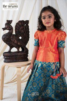 Long Dress Design, Baby Dress Design, Frock Design, Kids Blouse Designs, Saree Blouse Designs, Baby Princess, Little Princess, Lehanga For Kids, Cotton Frocks For Kids