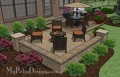 Small Spaced Patio | Patio Designs and Ideas