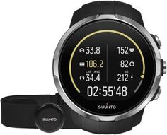 Suunto Spartan Sport GPS Multifunction Watch with Heart Rate Monitor Black