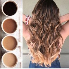 Ombre How to take care of dyed hair – Just Trendy Girl. Alpingo Balayage , How to take care of dyed hair – Just Trendy Girl. How to take care of dyed hair – Just Trendy Girl. How to take care of dyed hair – Just Trendy Gi. Brown Hair Balayage, Hair Color Balayage, Hair Highlights, Brown Hair To Ombre, Natural Ombre Hair, Full Balayage, Natural Waves Hair, Dark Ombre, Color Highlights