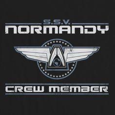Inspired by Mass Effect t-shirt - Normandy Mass Effect Tattoo, Commander Shepard, First Humans, Normandy, Logos, Inspired, Kaidan Alenko, Video Games, Nerdy Things